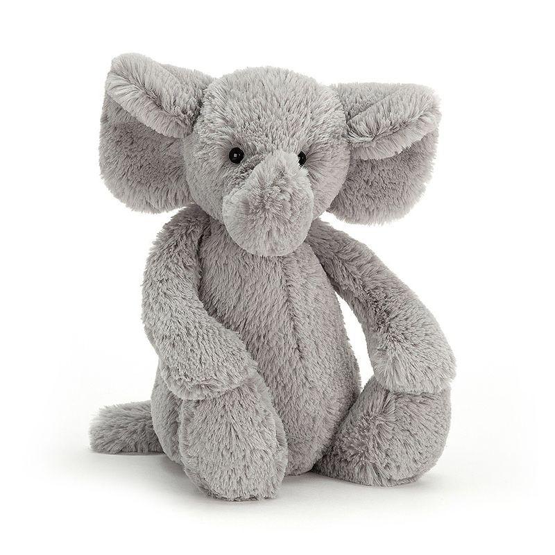 JellyCat Przytulanka słoń Bashful 18 cm - Pan Talerzyk