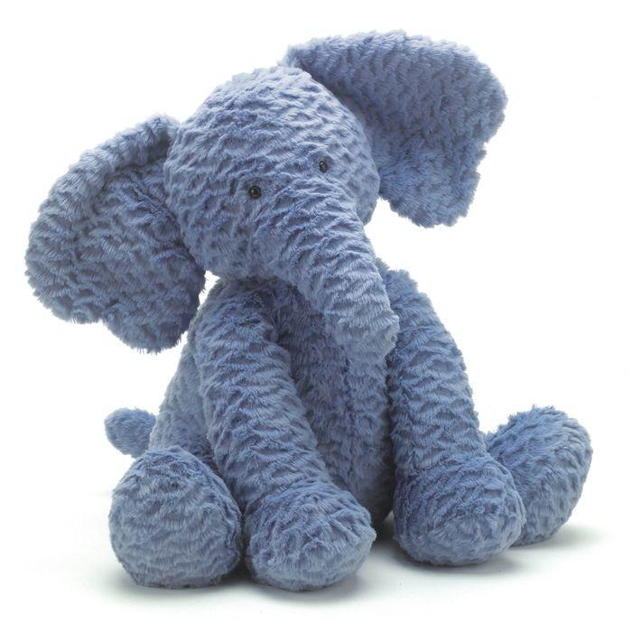 JellyCat Przytulanka słoń Fuddlewuddle 31 cm - Pan Talerzyk