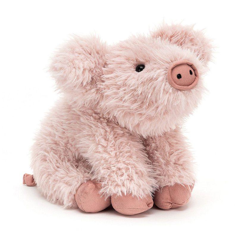 JellyCat Przytulanka świnka Curvie 24 cm - Pan Talerzyk