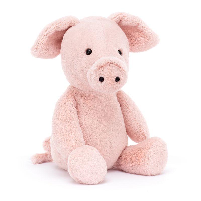 JellyCat Przytulanka świnka Nimbus 24 cm - Pan Talerzyk