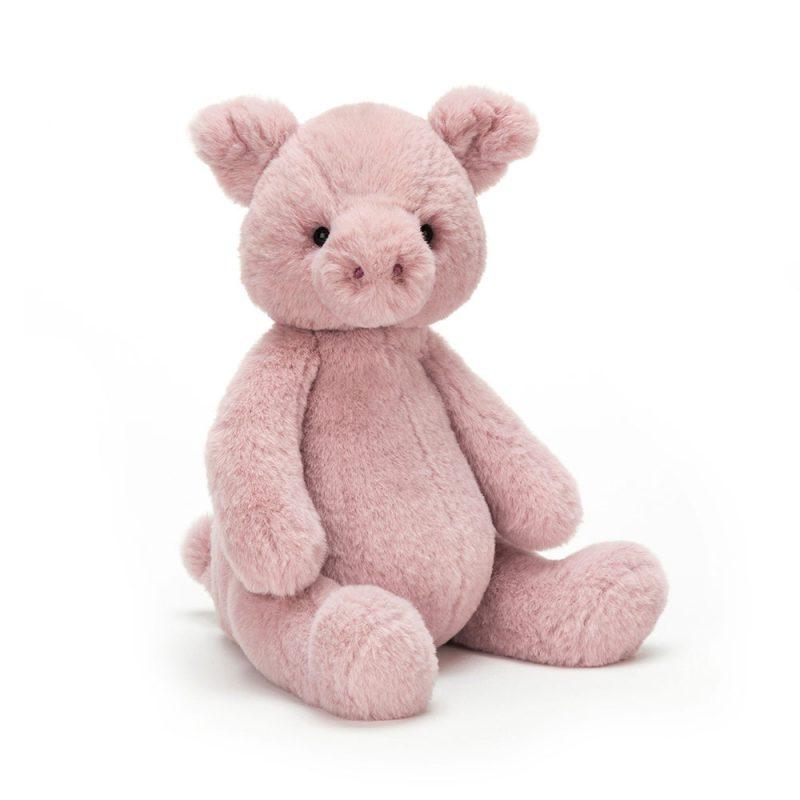 JellyCat Przytulanka świnka Puffles 31 cm - Pan Talerzyk