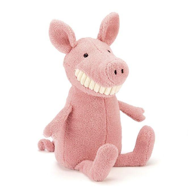 JellyCat Przytulanka świnka Toothy 36 cm - Pan Talerzyk