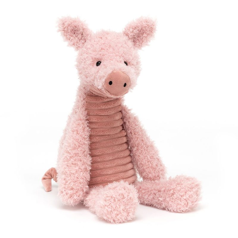 JellyCat Przytulanka świnka Wurly 39 cm - Pan Talerzyk