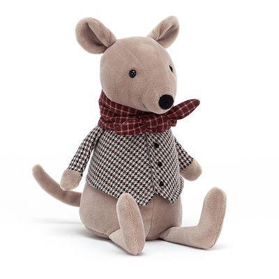 JellyCat Przytulanka szczurek Riverside Rambler 23 cm - Pan Talerzyk