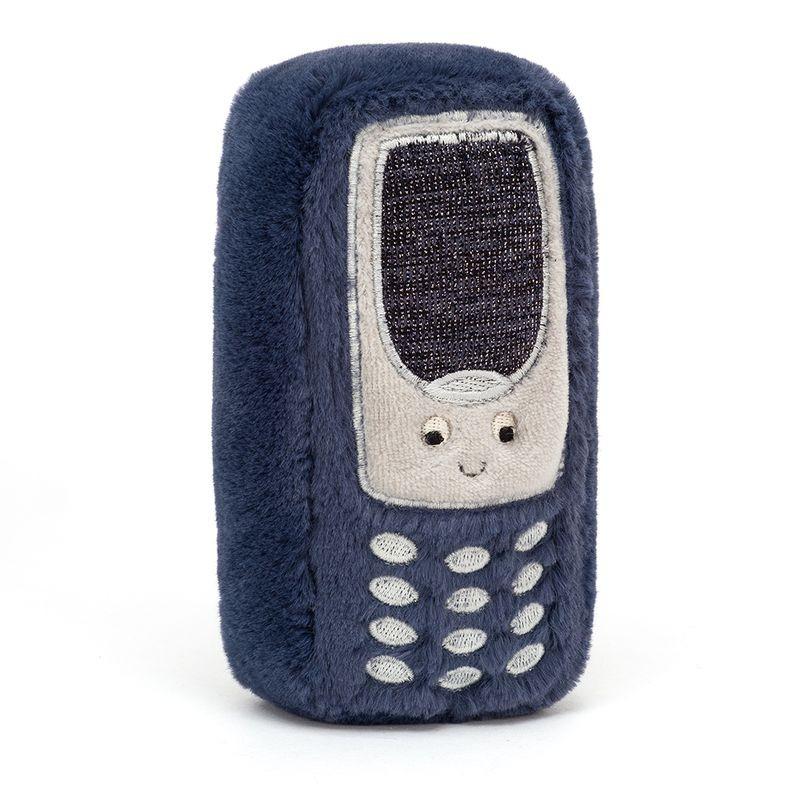 JellyCat Przytulanka telefon Wiggedy 15 cm - Pan Talerzyk