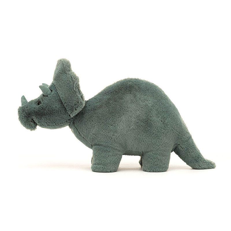 JellyCat Przytulanka triceratops Fossilly 17 cm - Pan Talerzyk