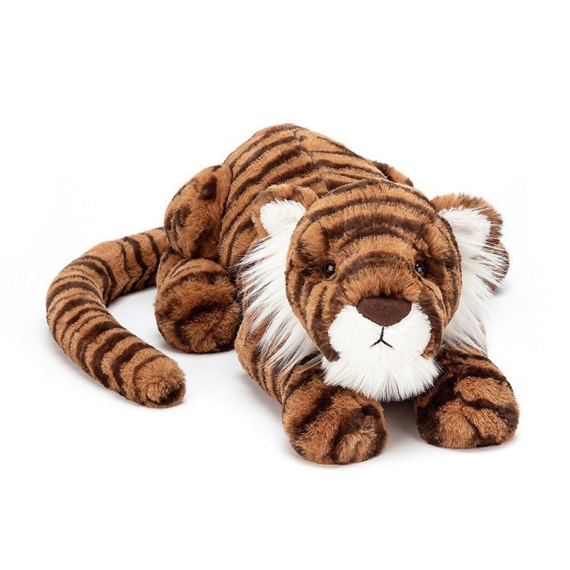 JellyCat Przytulanka tygrys Tia 46 cm - Pan Talerzyk