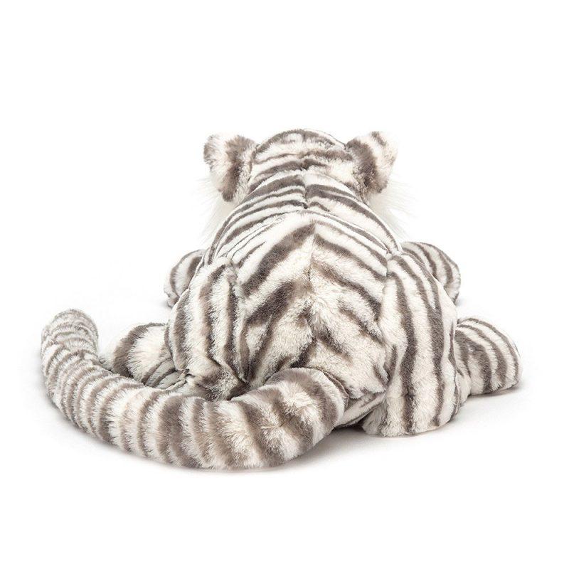 JellyCat Przytulanka tygrys śnieżny 46 cm - Pan Talerzyk