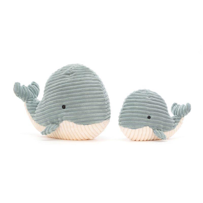 JellyCat Przytulanka wieloryb Cordy Roy 23 cm - Pan Talerzyk