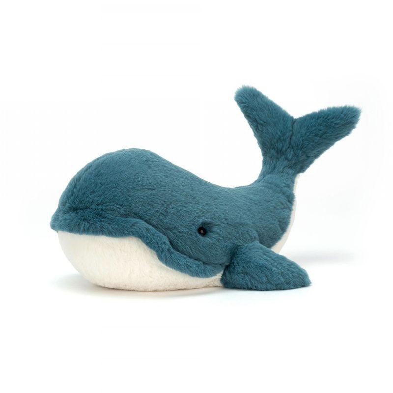 JellyCat Przytulanka wieloryb Wally 37 cm - Pan Talerzyk