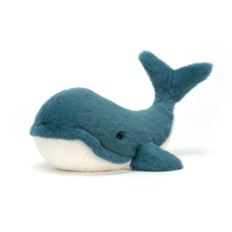JellyCat Przytulanka wieloryb Wally 46 cm - Pan Talerzyk
