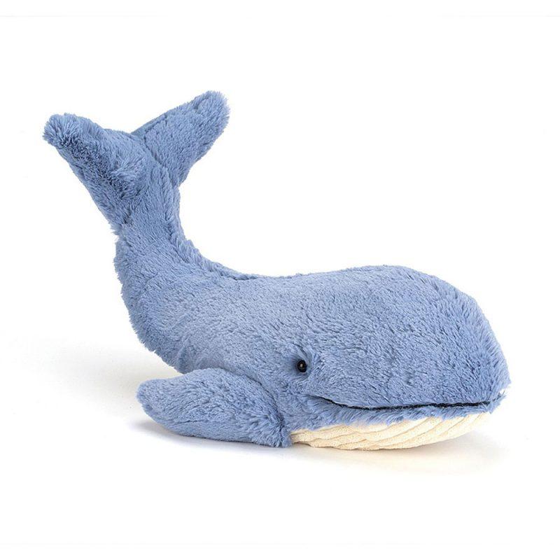 JellyCat Przytulanka wieloryb Wilbur 52 cm - Pan Talerzyk