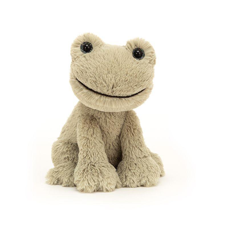 JellyCat Przytulanka żaba o gwieździstych oczach 18 cm - Pan Talerzyk