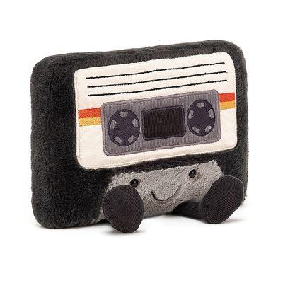 JellyCat Przytulanka zabawna kaseta 19 cm - Pan Talerzyk