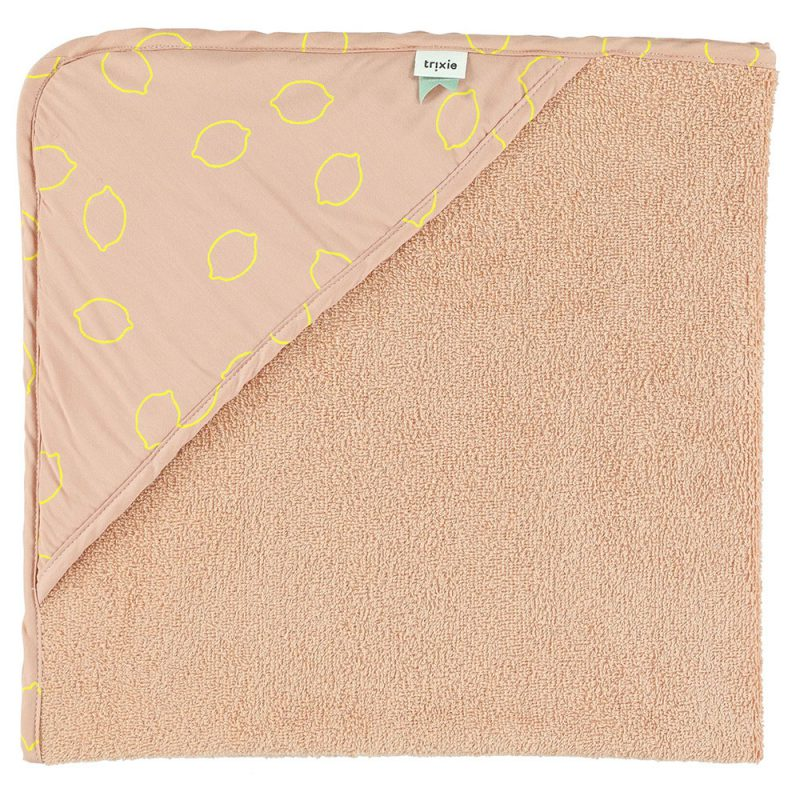 Trixie Baby Ręcznik z kapturem Lemon Squash - Pan Talerzyk