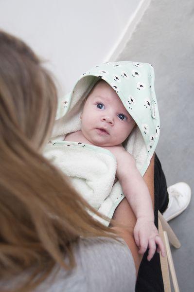 Trixie Baby Ręcznik z kapturem + myjka Sheep - Pan Talerzyk