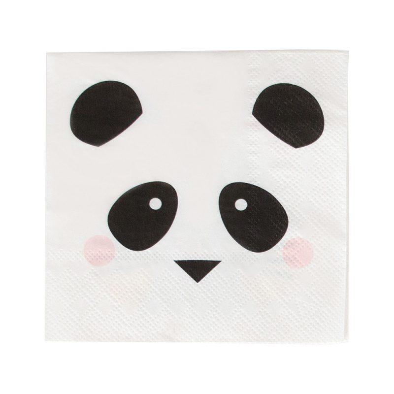 My Little Day Serwetki panda koktajlowe - 20 sztuk - Pan Talerzyk