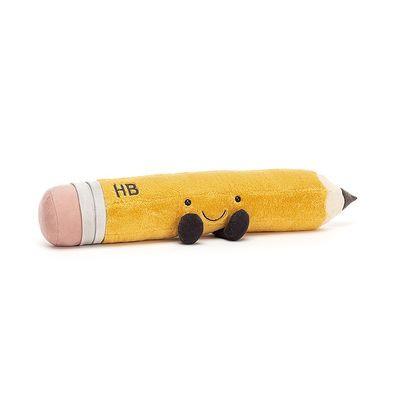 JellyCat Smart ołówek 12 cm - Pan Talerzyk