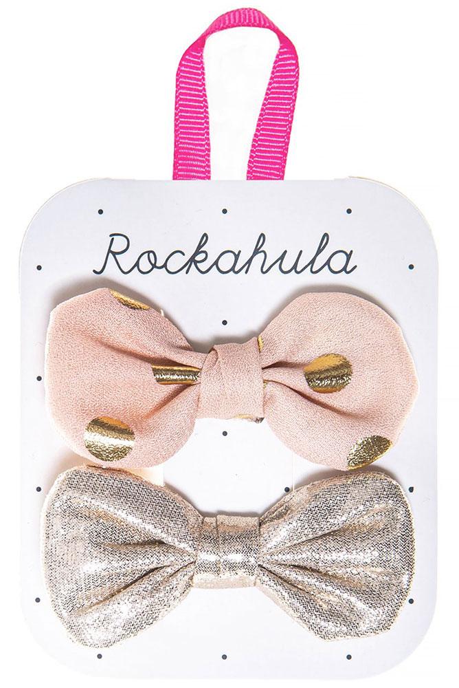 Rockahula Kids Spinki do włosów Bronte Bow - Pan Talerzyk