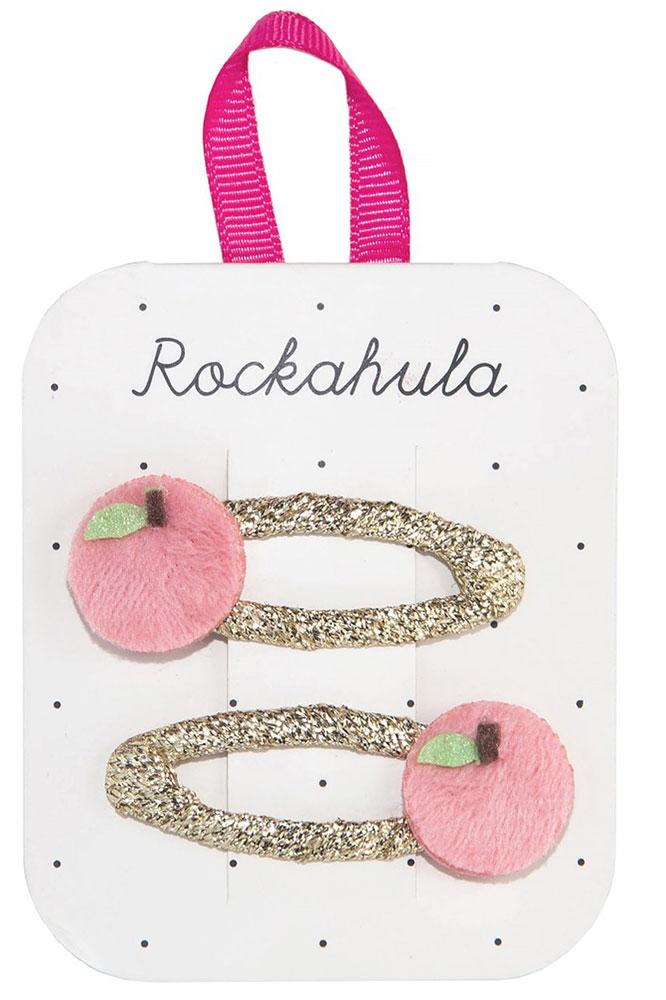 Rockahula Kids Spinki do włosów Feelin Peachy - Pan Talerzyk