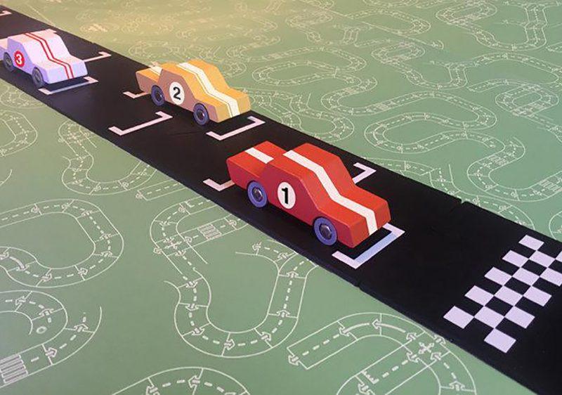 WayToPlay Start i meta - zestaw rozszerzający samochodowe WayToPlay - 2 elementy - Pan Talerzyk