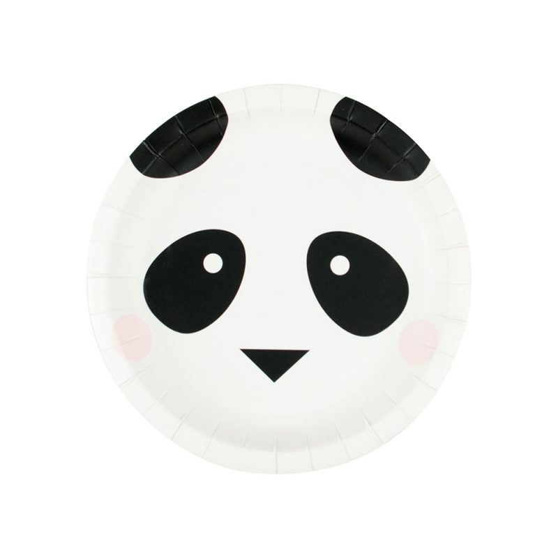 My Little Day Talerzyki panda małe - 8 sztuk - Pan Talerzyk