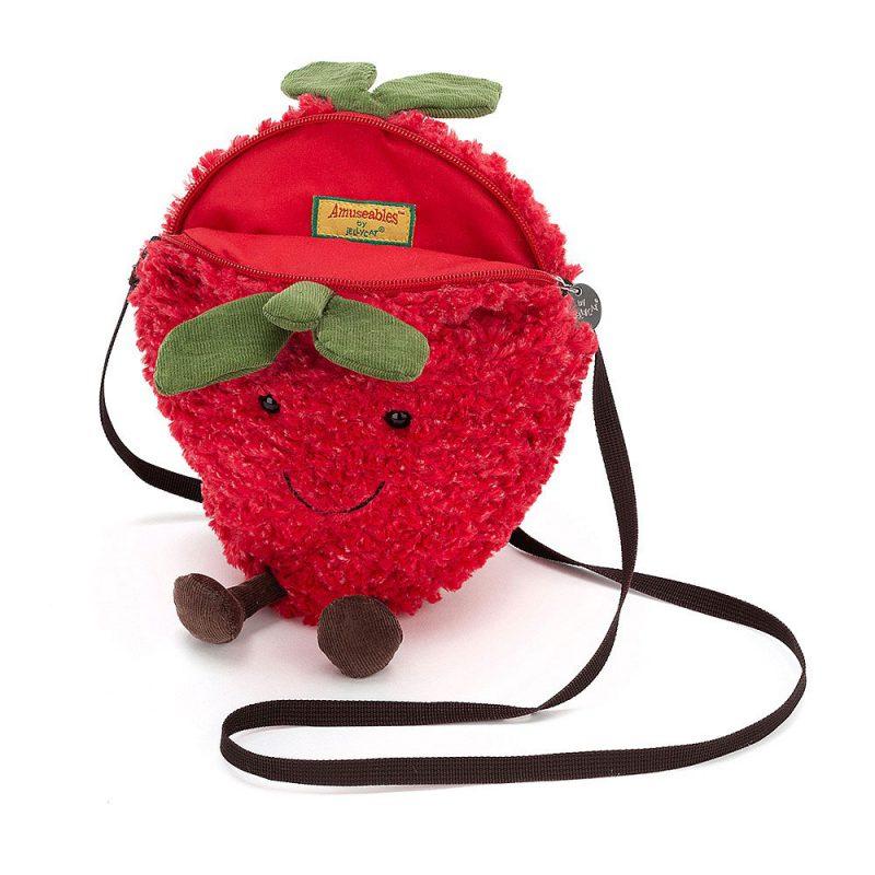 JellyCat Torebka na ramię truskawka Amuse - Pan Talerzyk