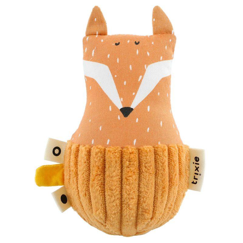 Trixie Baby Wańka - wstańka z dzwoneczkiem Mr. Fox - Pan Talerzyk