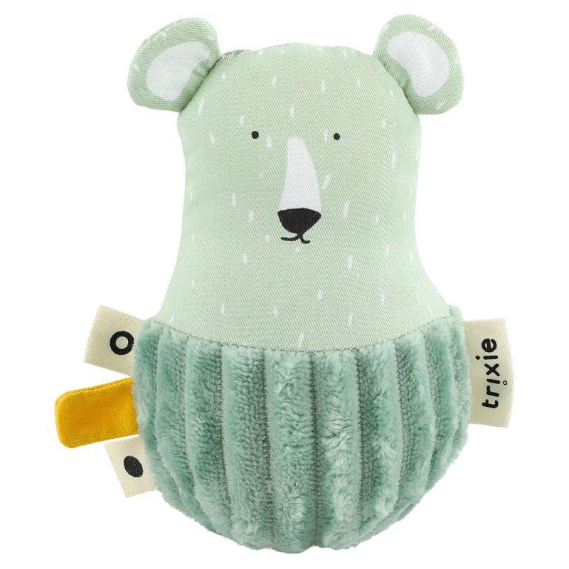 Trixie Baby Wańka - wstańka z dzwoneczkiem Mr. Polar Bear - Pan Talerzyk
