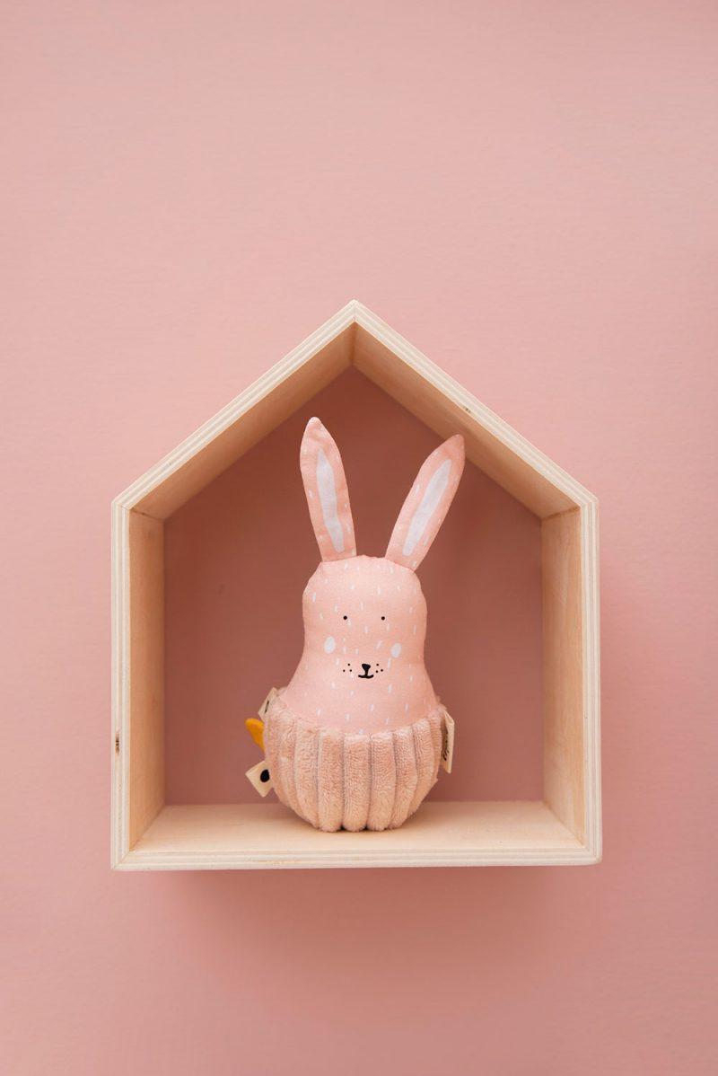 Trixie Baby Wańka - wstańka z dzwoneczkiem Mrs. Rabbit - Pan Talerzyk