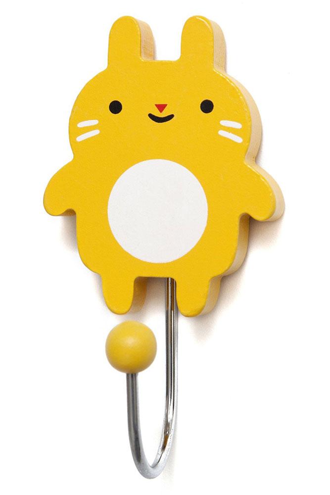 Petit Monkey Wieszak Little Bunny - mustard - Pan Talerzyk