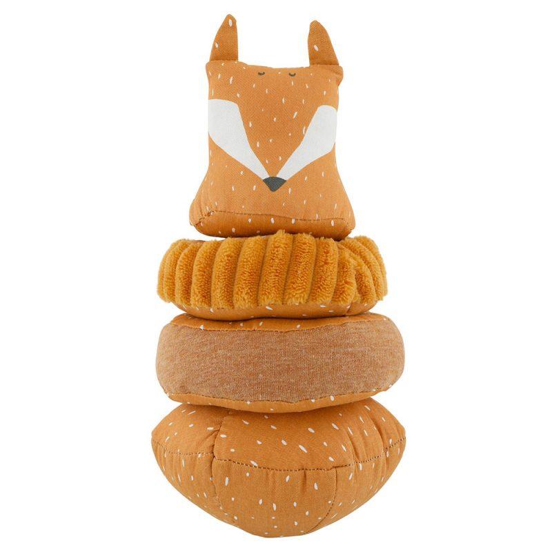 Trixie Baby Wieża Stacking Mr. Fox - Pan Talerzyk