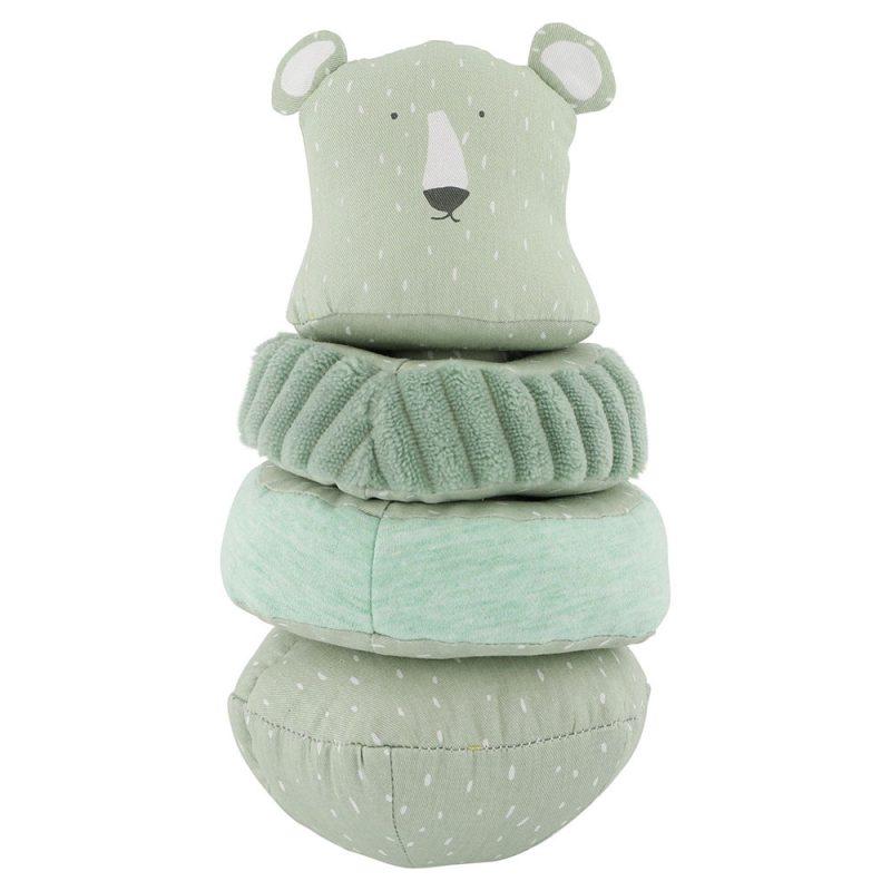 Trixie Baby Wieża Stacking Mr. Polar Bear - Pan Talerzyk