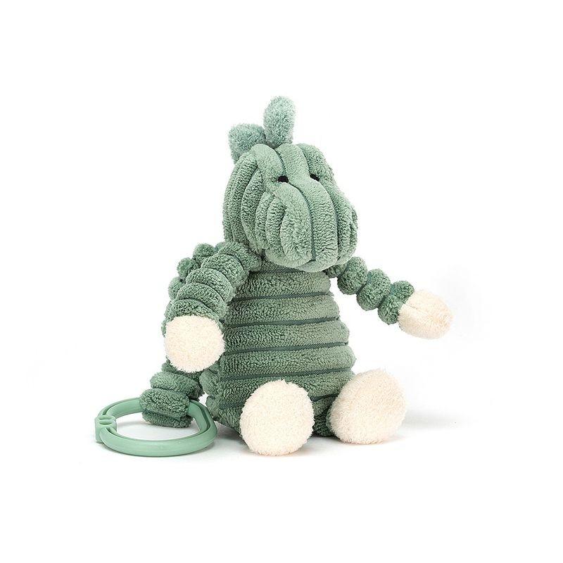 JellyCat Zawieszka dinozaur Cordy Roy 16 cm - Pan Talerzyk