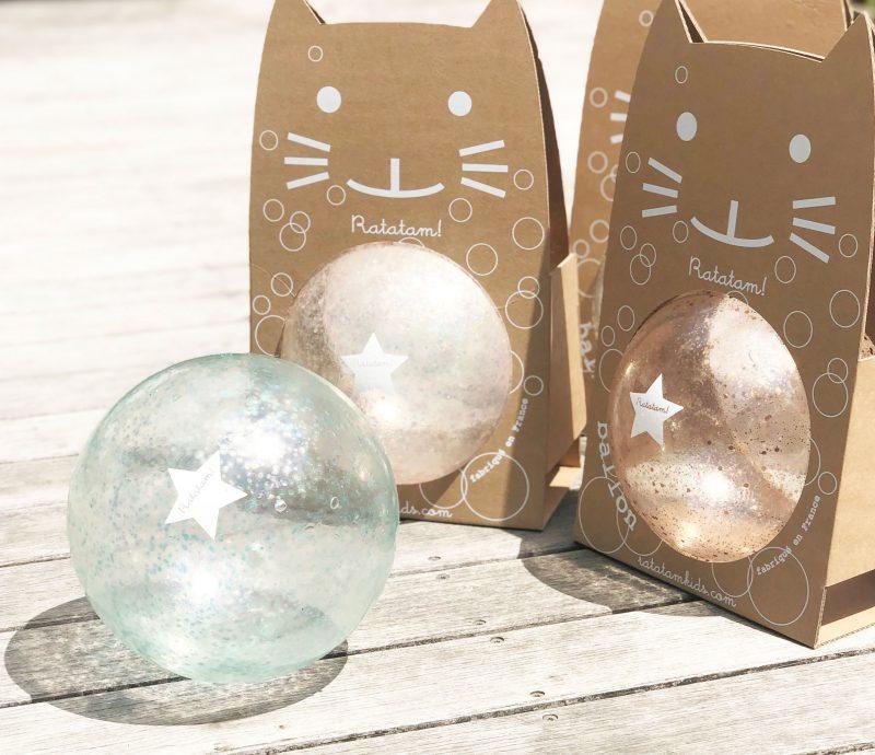 Ratatam Piłka duża 22 cm Bubble copper - Pan Talerzyk