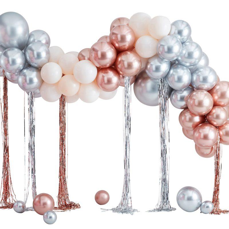 Ginger Ray Łuk balonowy z frędzlami - Pan Talerzyk