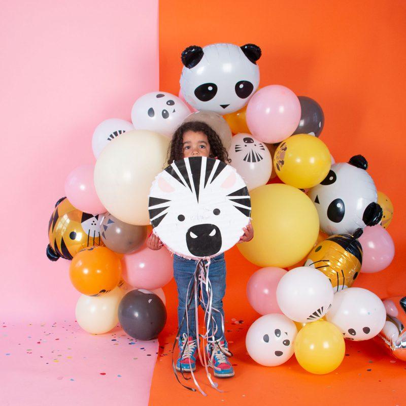 My Little Day Piniata zebra - Pan Talerzyk