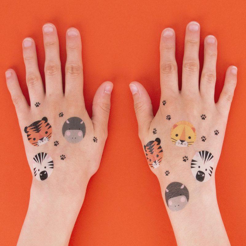 My Little Day Tatuaże safari - Pan Talerzyk